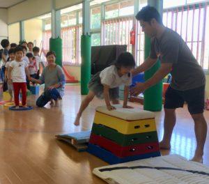 体操教室をしたよ🌟